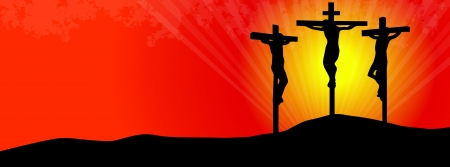 Crucifixion of christ -facebook cover