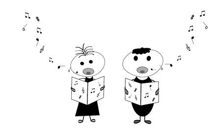 chorus: Kids singing