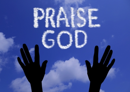 praising god: Alabado sea Dios