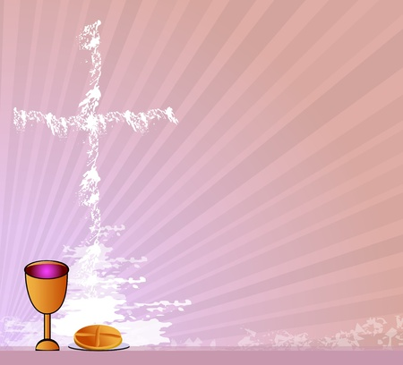 Holy Communion Vector