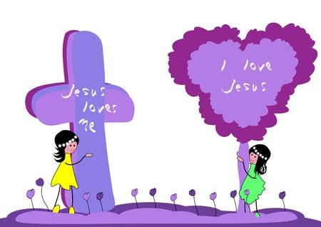 loves: Jesus Loves Me