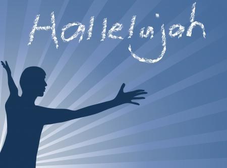 praising: Hallelujah Jesus