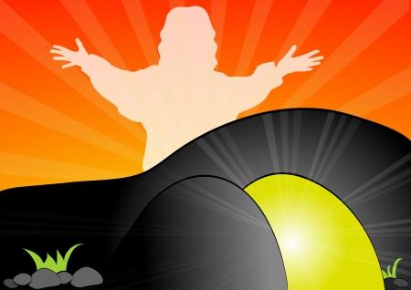 tumbas: Jesucristo ha resucitado