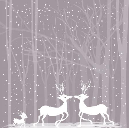 Reindeers in love