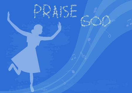 alabando a dios: Alabado sea Dios