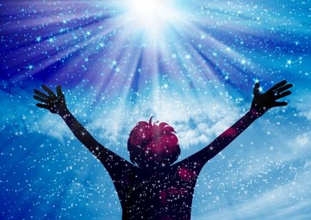 stelle blu: Lodate il Signore