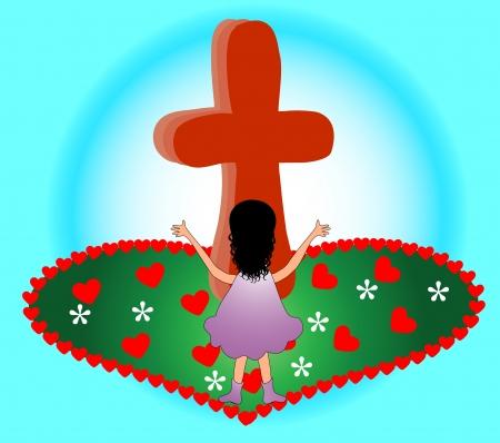 Praising at the Cross