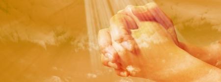 Hands praying Stock Photo - 25462053