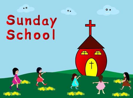 Escuela De Domingo Vectores