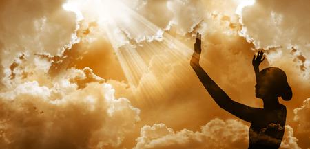 Praising God Фото со стока - 27426721