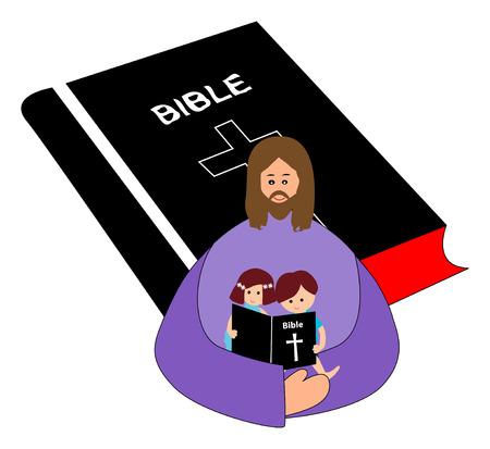historias biblicas: La lectura de la biblia