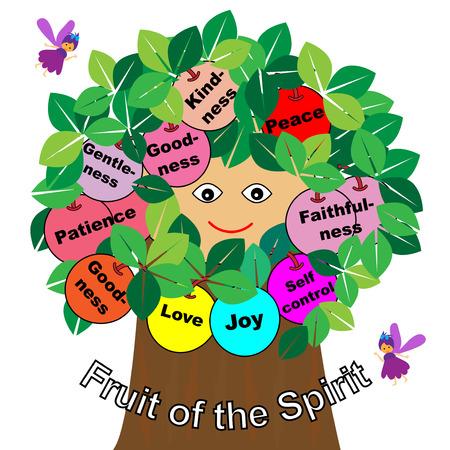 성령의 열매 일러스트