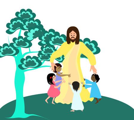 loves: Jesus loves the little children