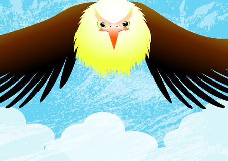 isaiah: Eagle  Illustration