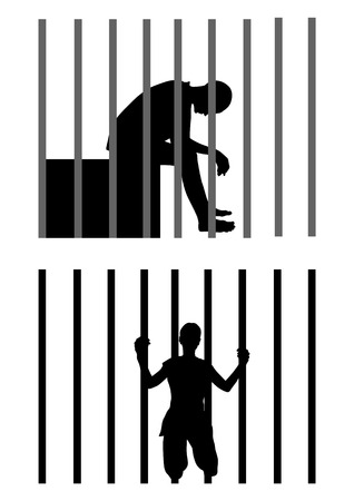 6,986 Prisoner Stock Illustrations, Cliparts And Royalty Free ...
