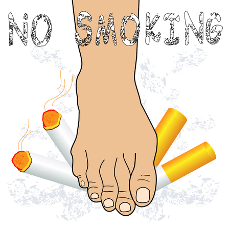 quit smoking: No smoking