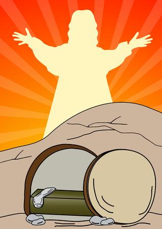 復活のイエス ・ キリスト - イエス ・ キリストは上昇しています。