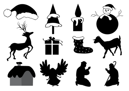 shepherd with sheep: Christmas Collection