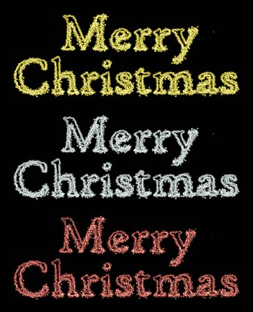 merry christmas text: