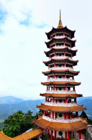 workship: Pagoda in Chin Swee Caves Temple,Genting Highland