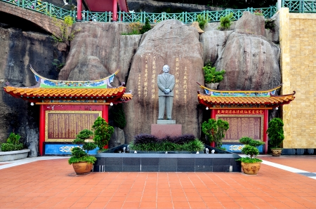Chin Swee Caves Temple,Genting Highland Archivio Fotografico