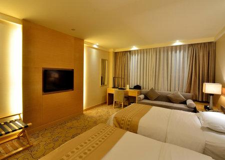 luxury hotel room: Luxury hotel room interior Editorial