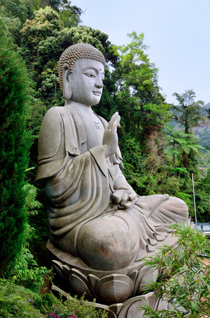 stone buddha: Stone buddha which is located at Chin Swee Caves Temple,Genting Highland