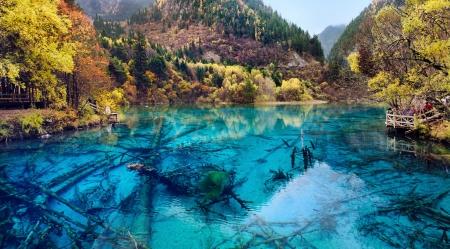Jiuzhaigou National Park,Sichuan China