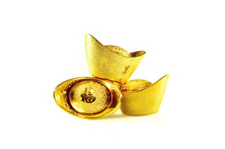 Chinese gold ingots