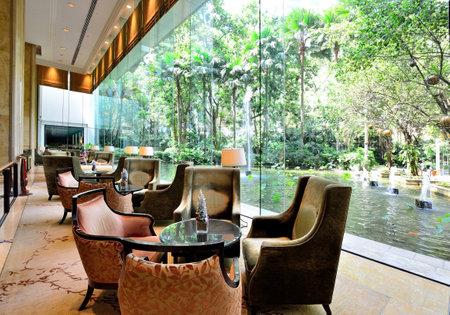 Luxury hotel lounge Sajtókép