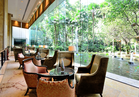 Luxury hotel lounge Editoriali