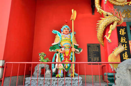 workship: Buddha statues which is located at Guan Di temple, Kuala Lumpur Guan Di temple  Kuan Ti Temple  is  very popular and beautiful Taoist temple which is located in Jalan Tun H S Lee,a small street parallel to the busy Petaling Street