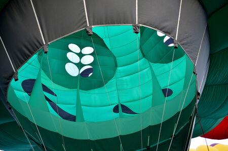 Close-up of the hot air balloon in Putrajaya International Hot Air Balloon Fiesta photo