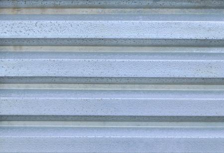 Corrugated aluminium photo