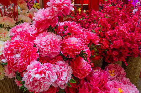 Artificial Flower Chinese New Year Images & Stock Pictures ...