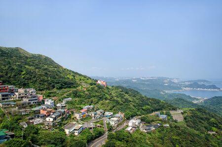 jiufen: Day scene town scenery in Jiufen,Taiwan.
