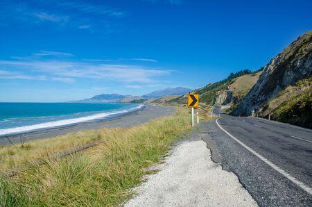 kaikoura: Kaikoura in south island,New Zealand. Stock Photo