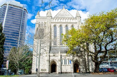 denominational: Auckland,New Zealand - September 18,2015 : St Matthew In The City is an non-denominational gay and lesbian community.