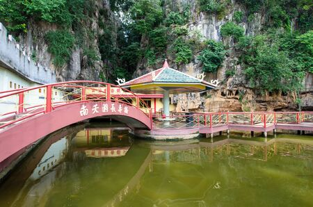 Ipoh,Malaysia - July 16,2015 : Nan Tian Tong temple is a popular tourist destination in Ipoh,Malaysia.