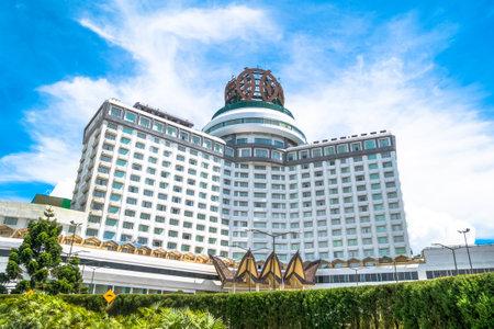 Genting Highlands, Malasia - Octubre 18,2017: Resorts World Genting es un complejo de montaña ubicado en Bentong, Pahang, Malasia. Las personas pueden ver explorar a su alrededor.