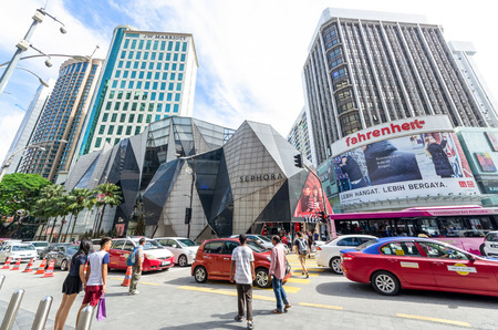 Kuala Lumpur, Malaysia - Dec 4,2017 : Starhill Gallery is a luxury retail mall located in Bukit Bintang shopping district of KL,Malaysia.It is listed as one of Asia's most beautiful shopping malls
