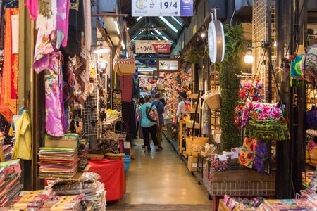 Bangkok,Thailand - November 2,2019 : People can seen shopping and exploring around Chatuchak weekend market, it is one of the world's largest weekend markets.