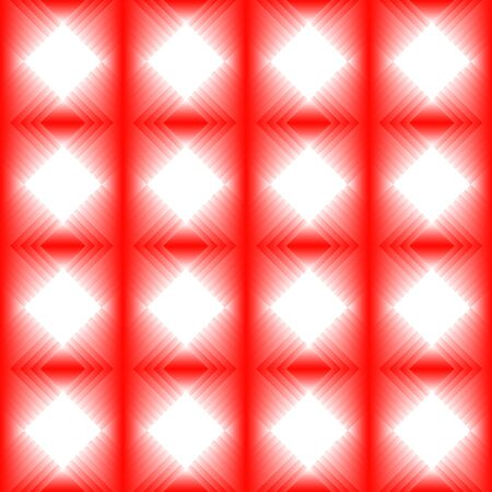 red diamond: Tiles made of red diamond. Red white pattern of lozenges for texture or background of the hall or living room. Illustration