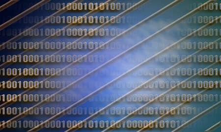 Binary code, internet Stock Photo - 10430752
