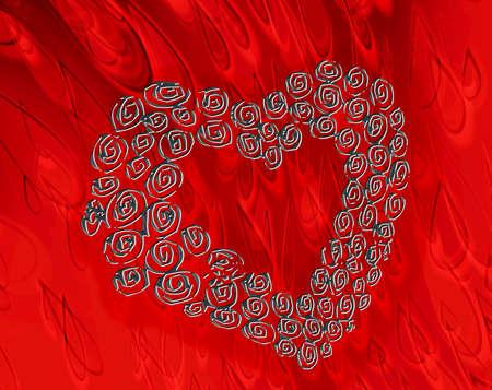 Heart of roses Stock Photo - 10634879