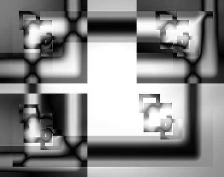nonverbal: Black and white box
