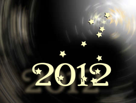 Comes in 2012 Stock Photo