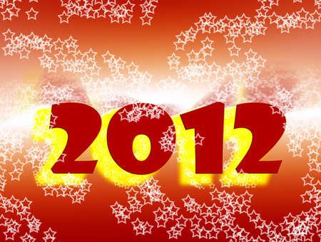make summary: 2012 celebrations Stock Photo