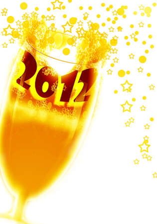 2012  celebrate year Stock Photo - 10918263