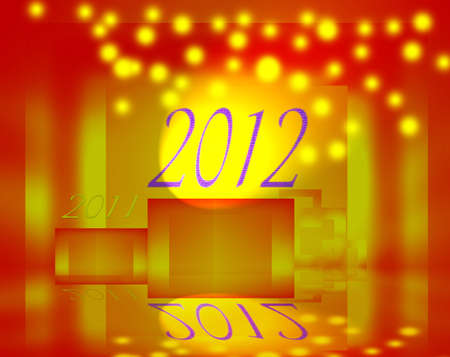 2012. Protagonist of the new year  photo